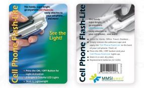 MMSI: Cellphone Flashlite Package Design