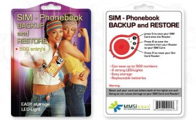 MMSI: Sim Card Package Design